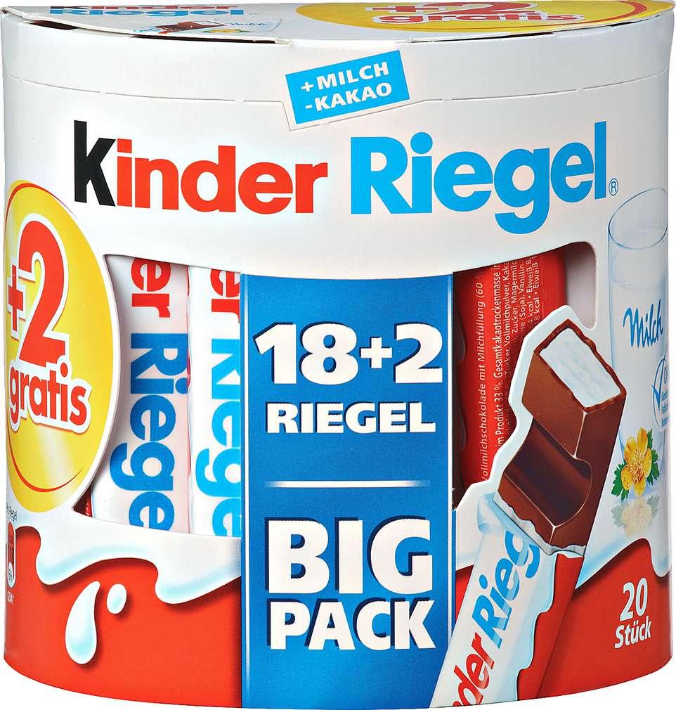 Abbildung des Sortimentsartikels Ferrero Big Pack +2 Riegel gratis 420g