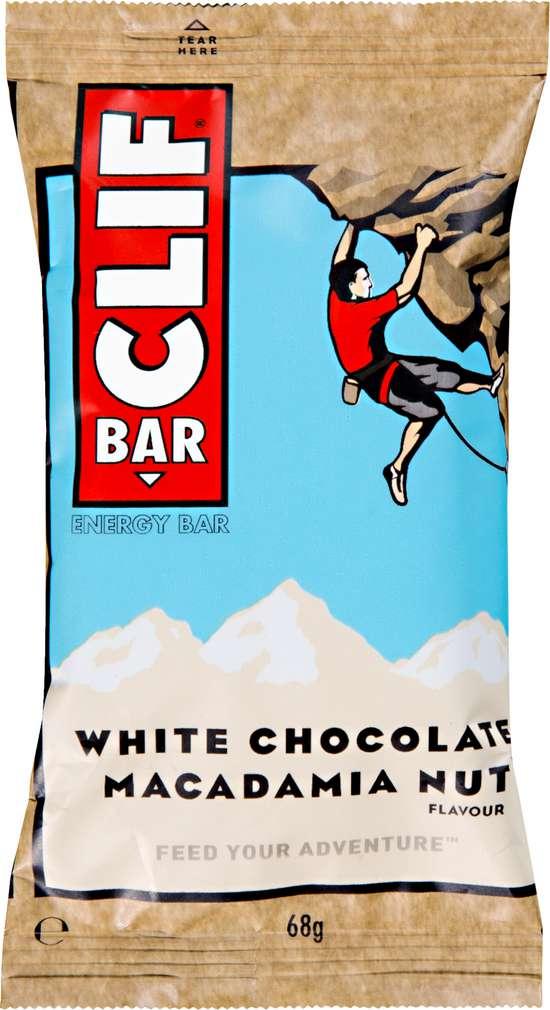 Abbildung des Sortimentsartikels Clif Bar Energieriegel White Chocolate Macadamia Nut 68g
