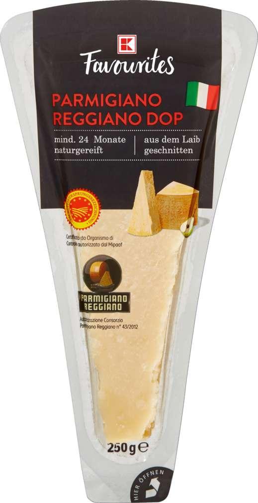 Abbildung des Sortimentsartikels K-Favourites Parmigiano Reggiano DOP 250g