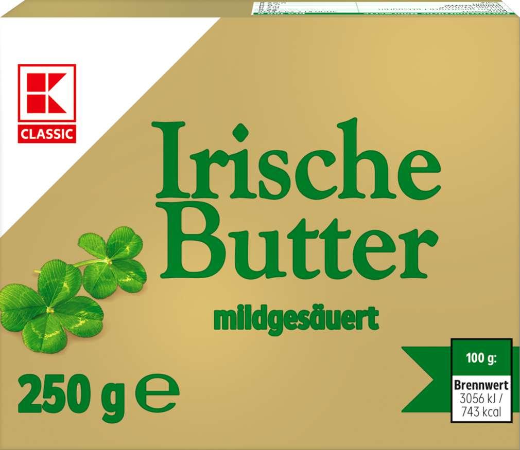 Abbildung des Sortimentsartikels K-Classic Irische Butter 82% Fett i.Tr. 250g