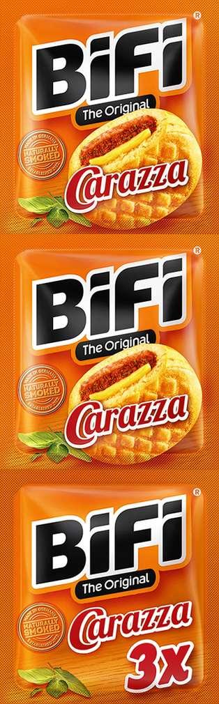 Abbildung des Sortimentsartikels Bifi Pizza Carazza 3x40g