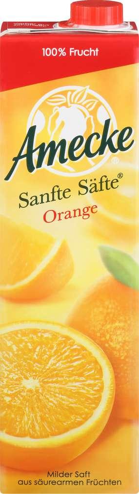 Abbildung des Sortimentsartikels Amecke Sanfte Säfte Orangensaft ohne Fruchtfleisch 1l