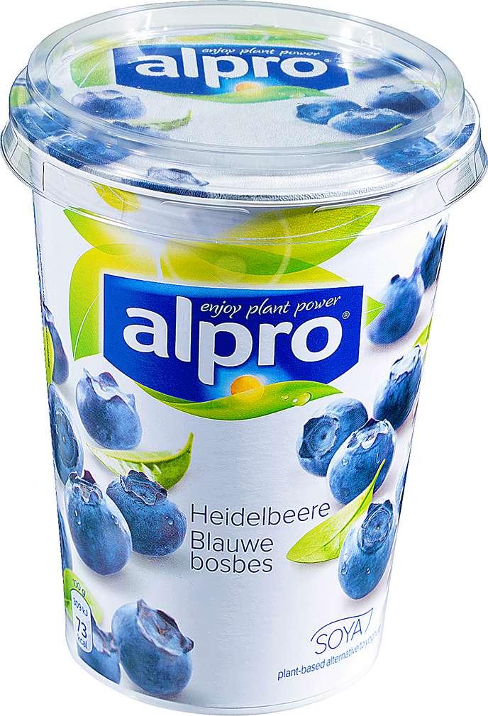 Abbildung des Sortimentsartikels Alpro Soja-Joghurtalternative Heidelbeere 500g