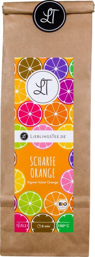 Abbildung des Sortimentsartikels LieblingsTee Bio-Früchtetee Scharfe Orange 150g