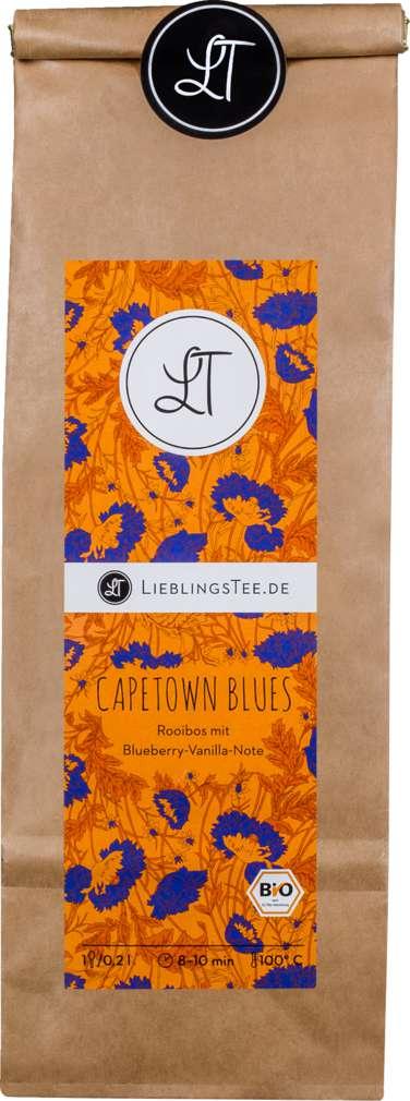 Abbildung des Sortimentsartikels LieblingsTee Bio-Rooibostee Capetown Blues 125g