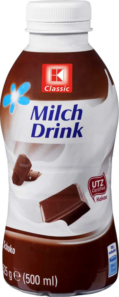 Abbildung des Sortimentsartikels K-Classic Milchdrink Schokolade 500ml