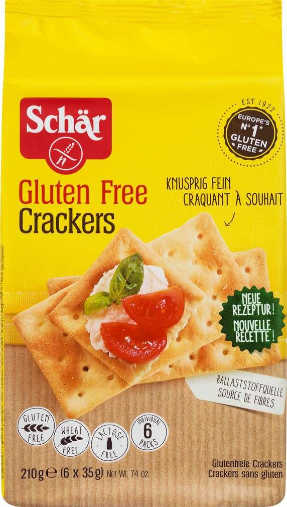 Abbildung des Sortimentsartikels Schär Crackers 6x35g