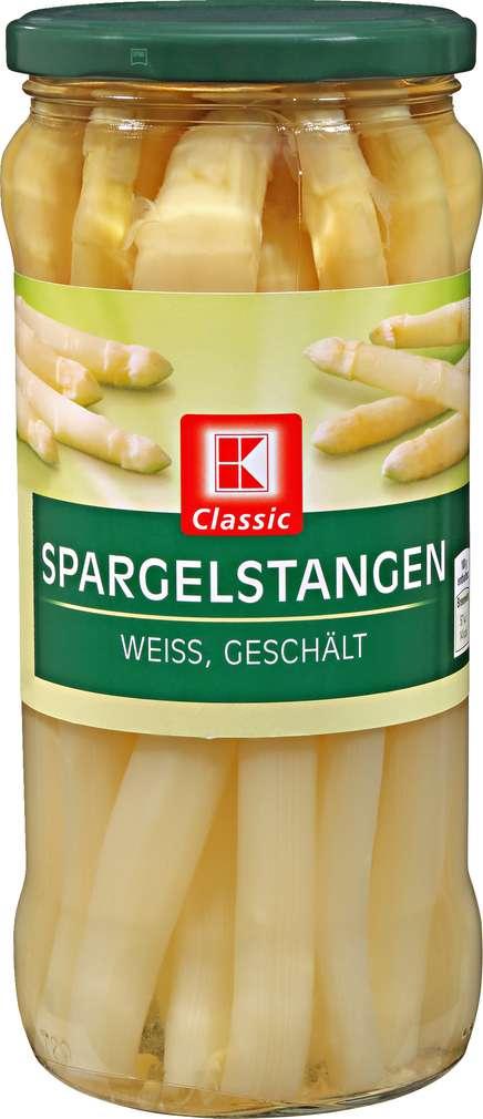 Abbildung des Sortimentsartikels K-Classic Spargelstangen 660g