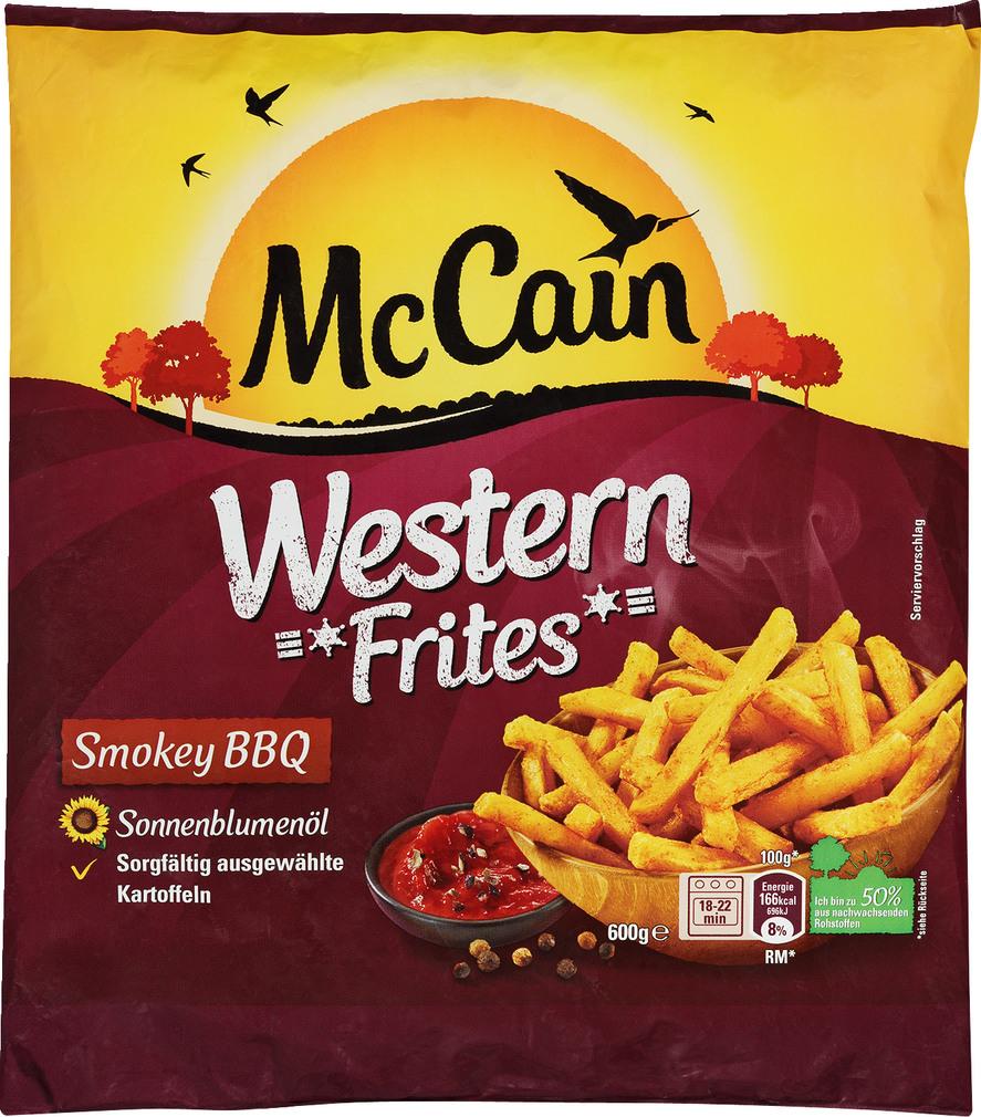 Abbildung des Sortimentsartikels Mc Cain Western Frites 600g