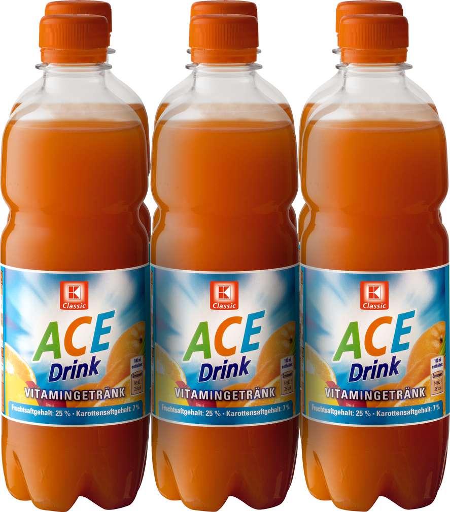 Abbildung des Sortimentsartikels K-Classic A.C.E. Drink 6/0,5l