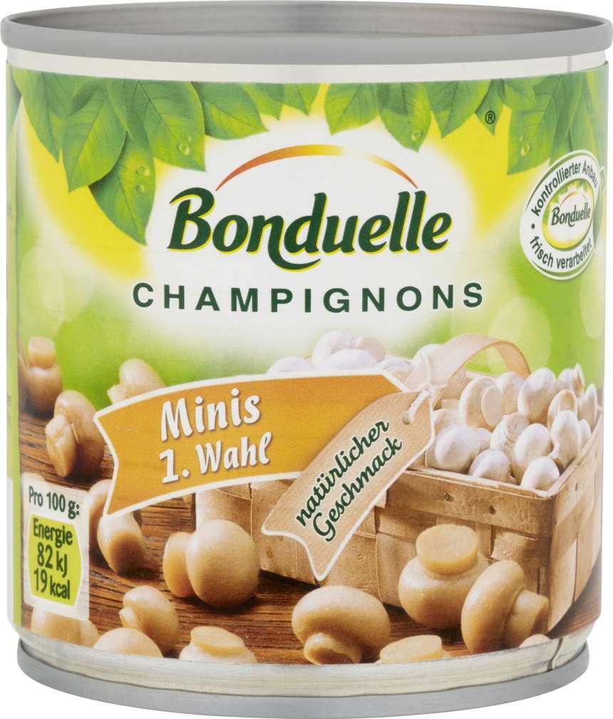 Abbildung des Sortimentsartikels Bonduelle Champignons Minis 1. Wahl 200g