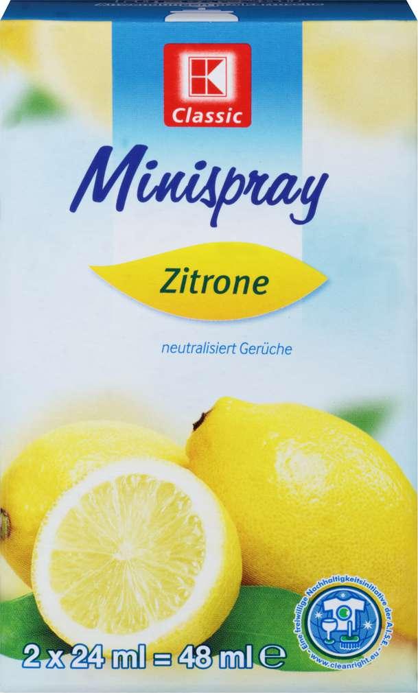 Abbildung des Sortimentsartikels K-Classic Minispray Lemon 2x24ml