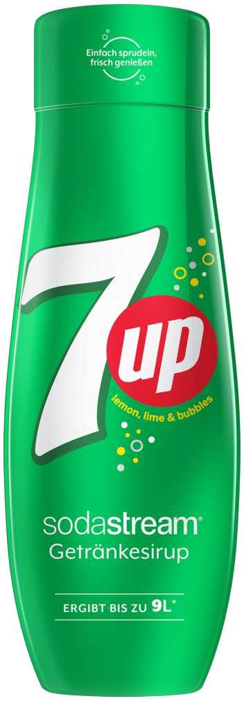 Abbildung des Sortimentsartikels SodaStream Sirup 7 Up 440ml