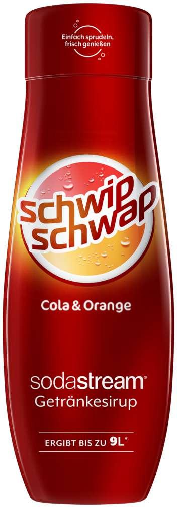 Abbildung des Sortimentsartikels SodaStream Sirup Schwip Schwap 440ml