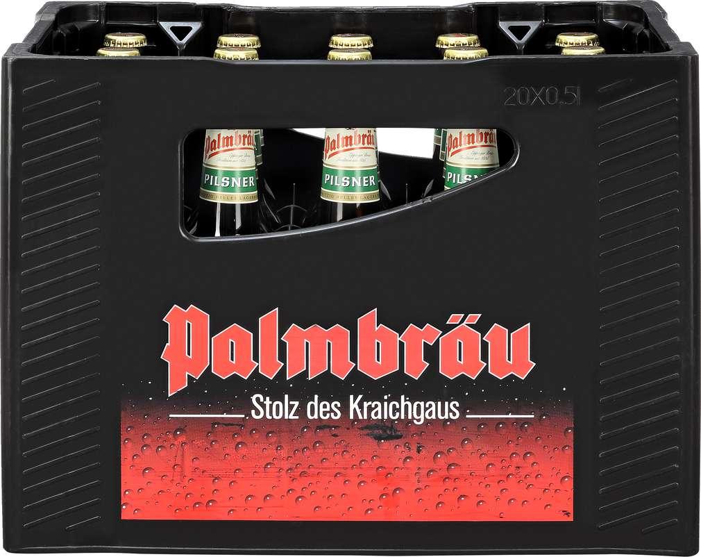 Abbildung des Sortimentsartikels Palmbräu Pilsner 20x0,5l