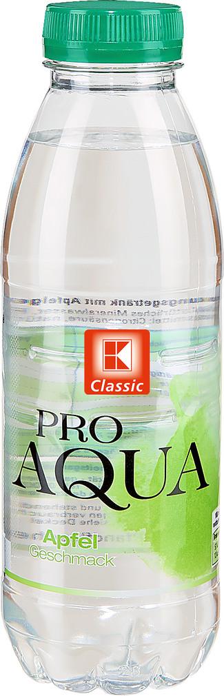 Abbildung des Sortimentsartikels K-Classic Pro Aqua Apfel 0,5l