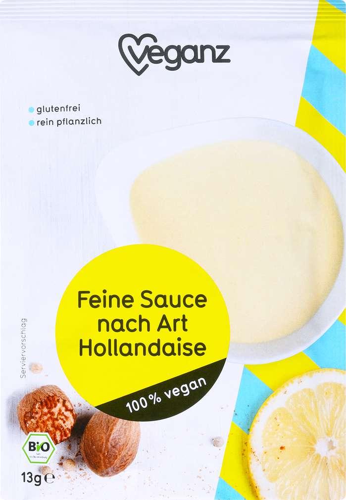 Abbildung des Sortimentsartikels Veganz Feinste Sauce nach Art Hollandaise 13g