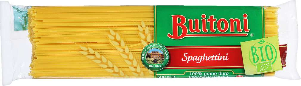 Abbildung des Sortimentsartikels Buitoni Spaghetti Bio 500g