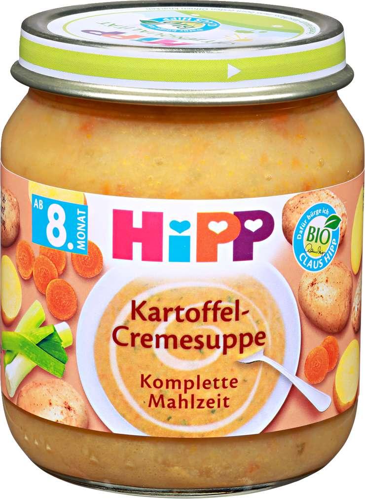 Abbildung des Sortimentsartikels Hipp Kartoffel-Cremesuppe 200g