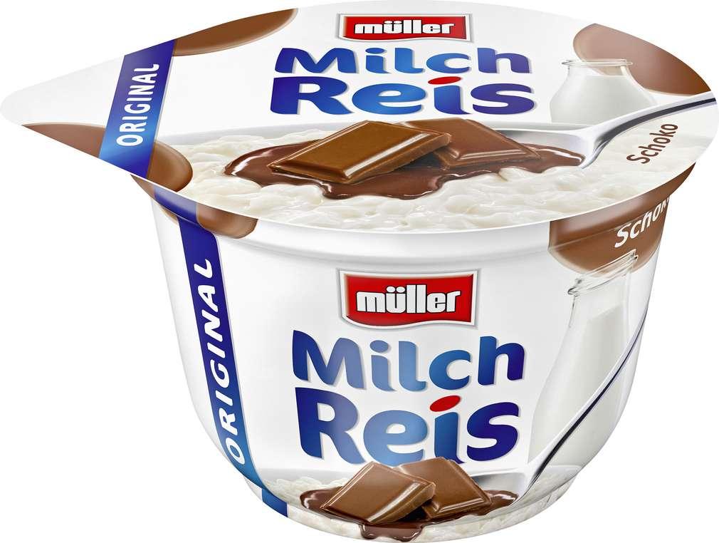 Abbildung des Sortimentsartikels Müller Milchreis Schoko 200g