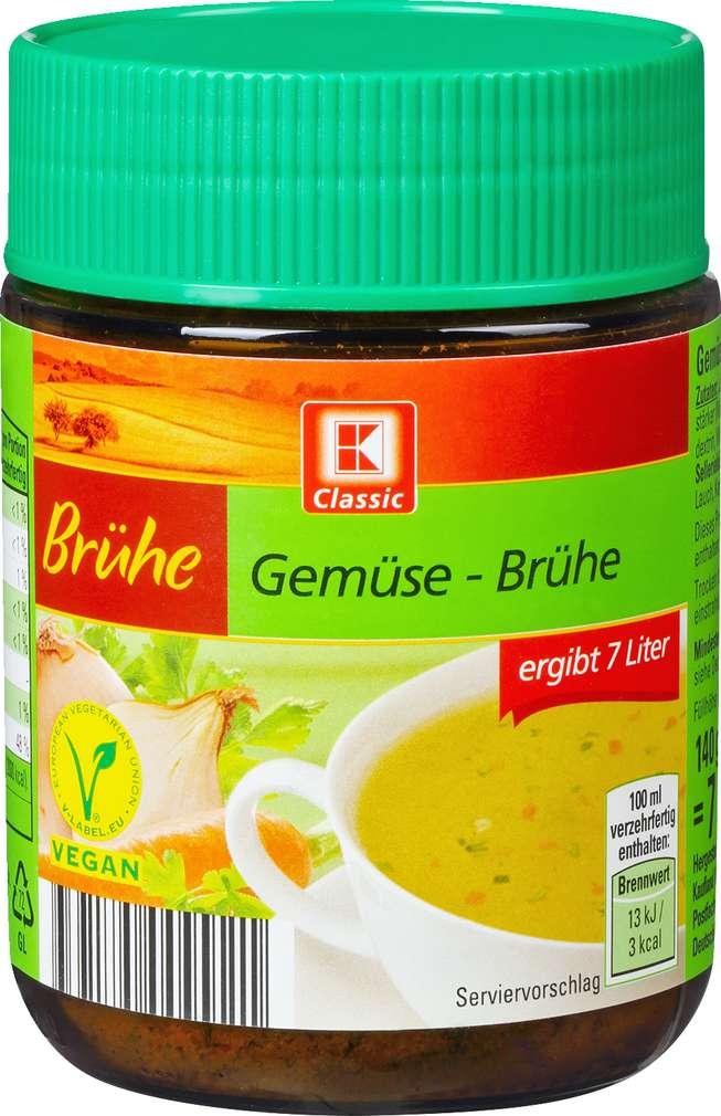 Abbildung des Sortimentsartikels K-Classic Gemüse Brühe 7L