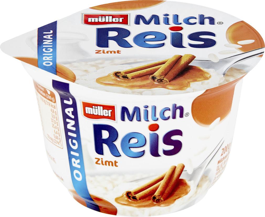 Abbildung des Sortimentsartikels Müller Milchreis Zimt 200g