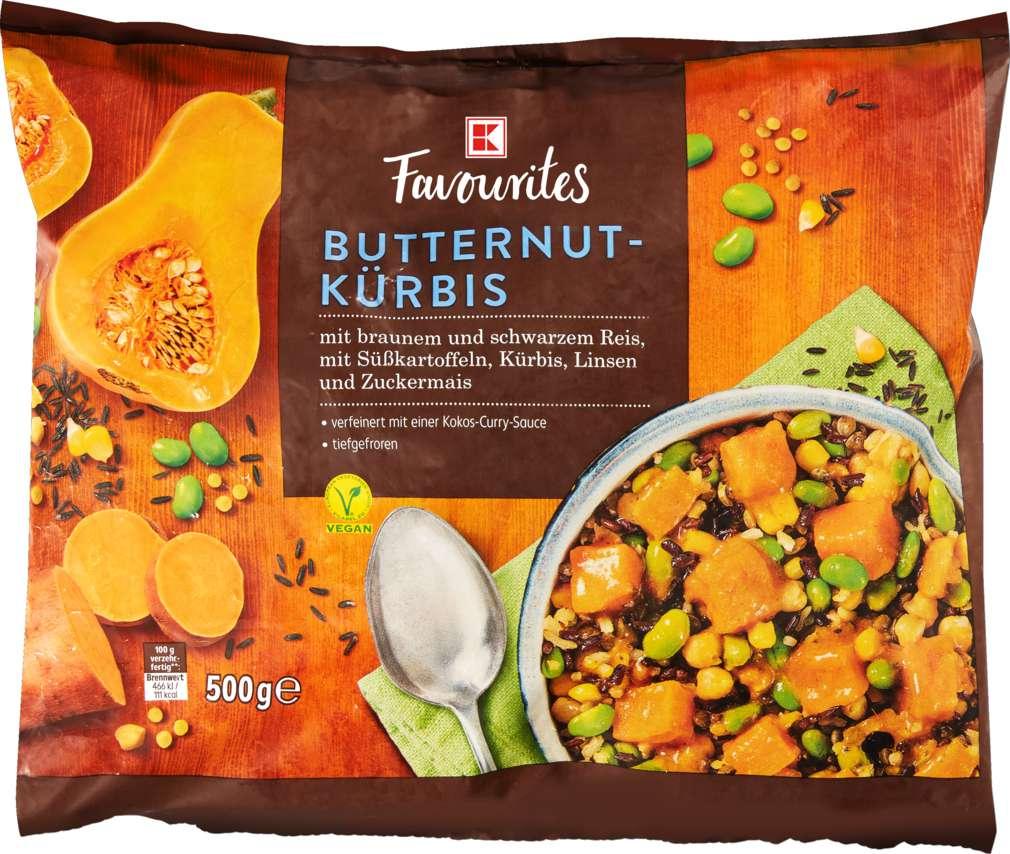 Abbildung des Sortimentsartikels K-Favourites Butternut-Kürbis Squash 500g