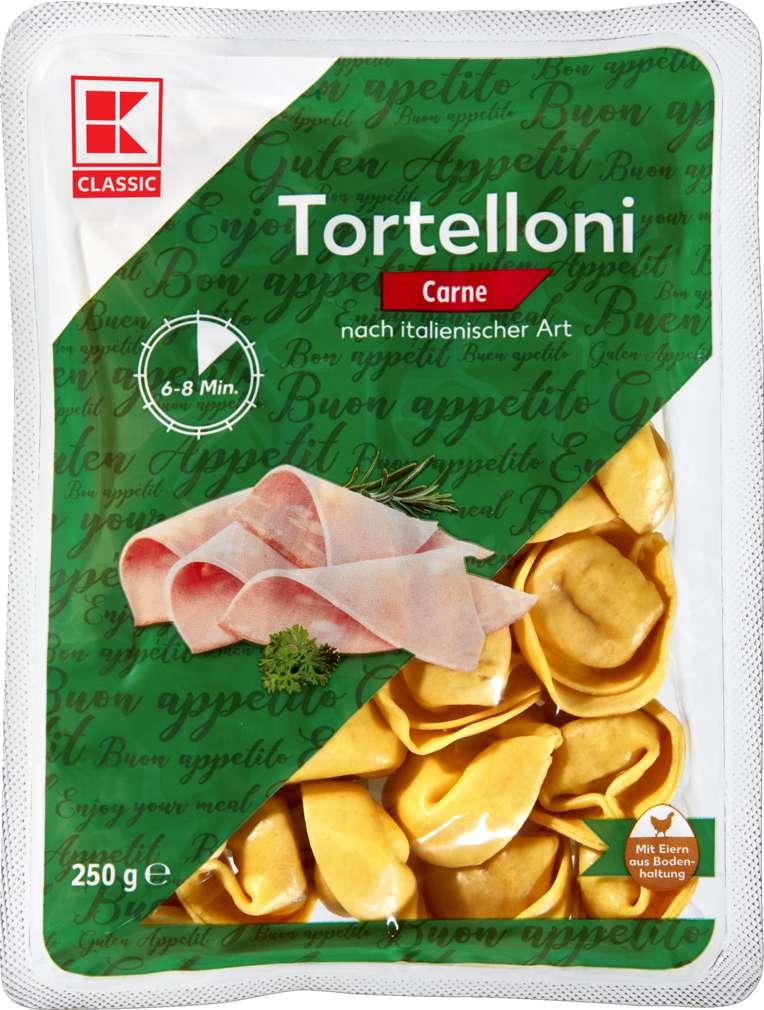 Abbildung des Sortimentsartikels K-Classic Tortelloni Fleisch 250g