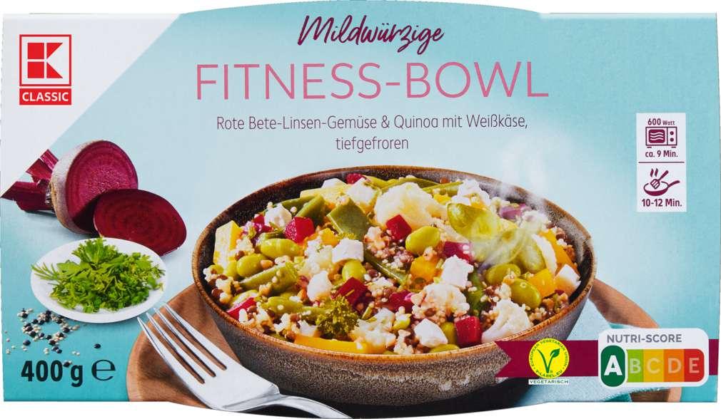 Abbildung des Sortimentsartikels K-Classic Fitness Bowl Rote Bete Quinoa 400g