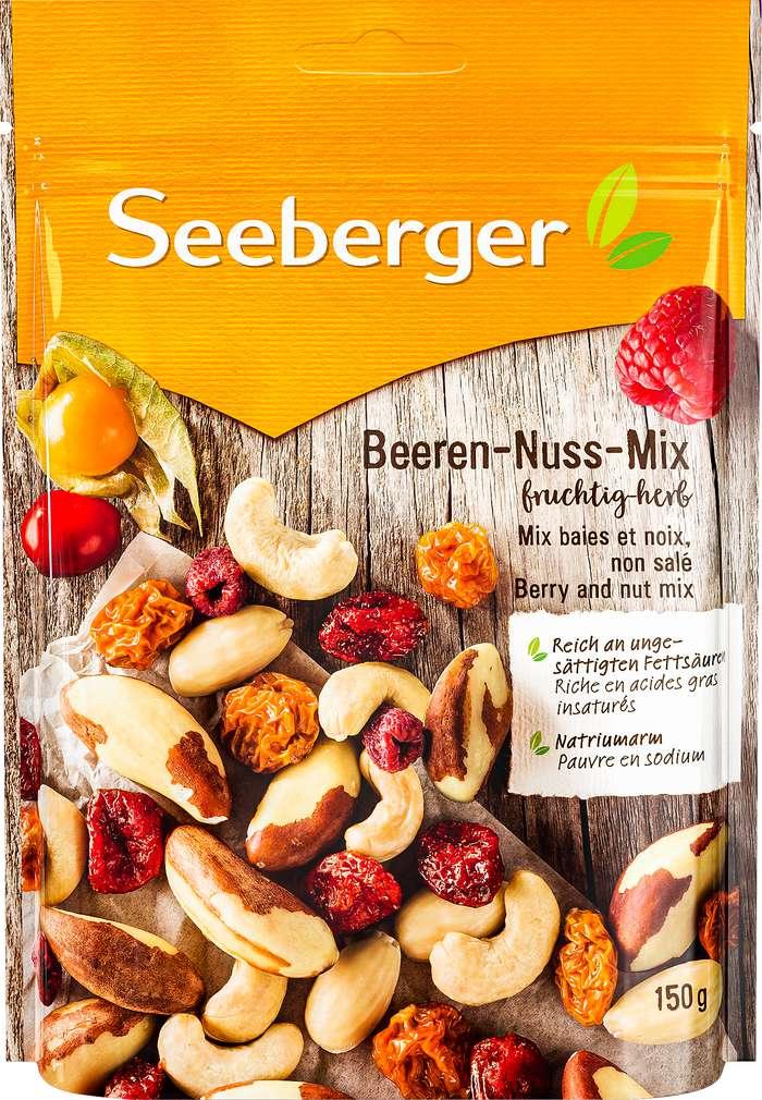 Abbildung des Sortimentsartikels Seeberger Beeren-Nuss-Mix 150g