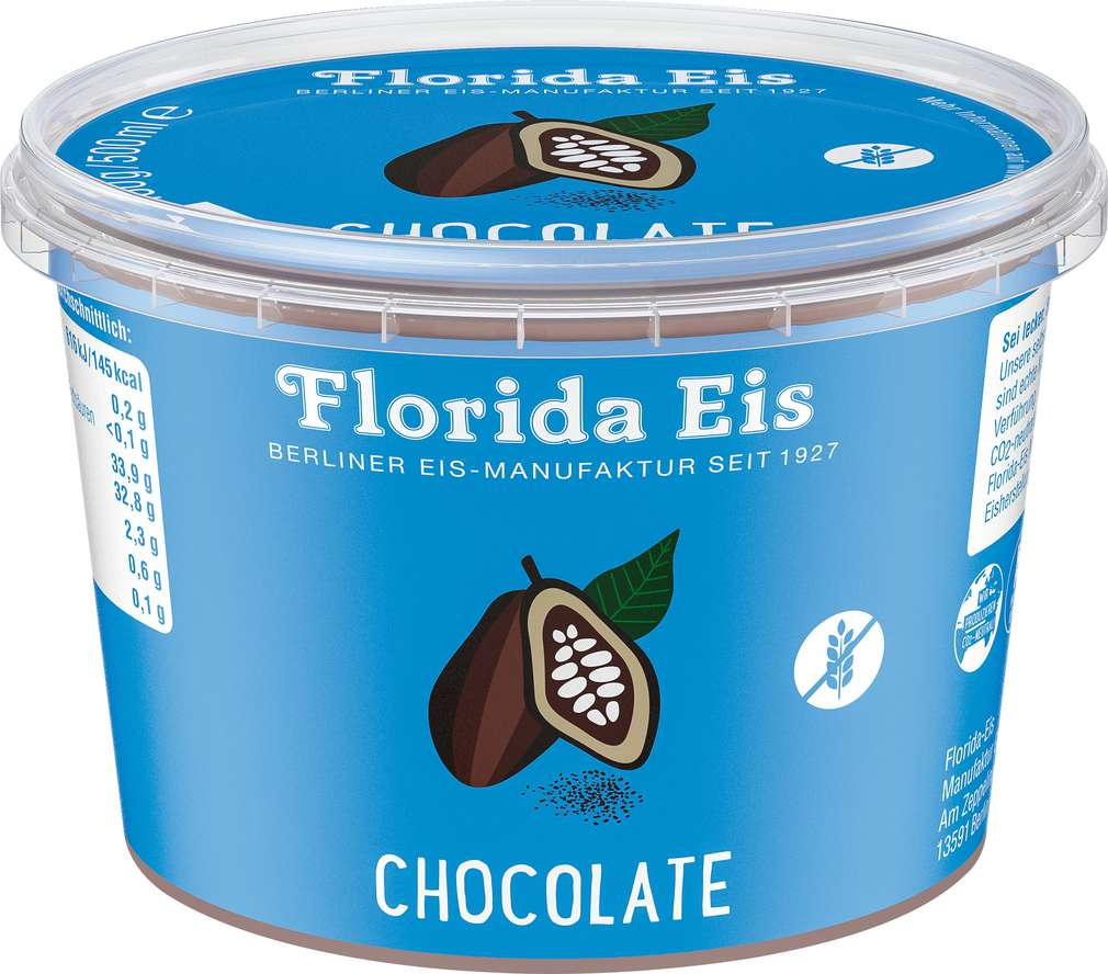 Abbildung des Sortimentsartikels Florida Chocolate Eis 500ml