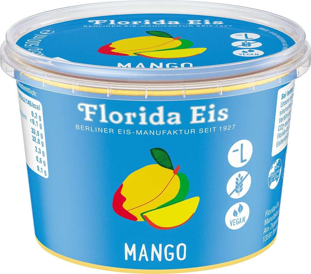 Abbildung des Sortimentsartikels Florida Mango Eis 500ml