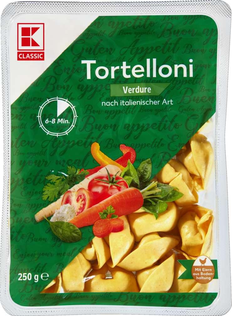 Abbildung des Sortimentsartikels K-Classic Tortelloni Gemüse  250g