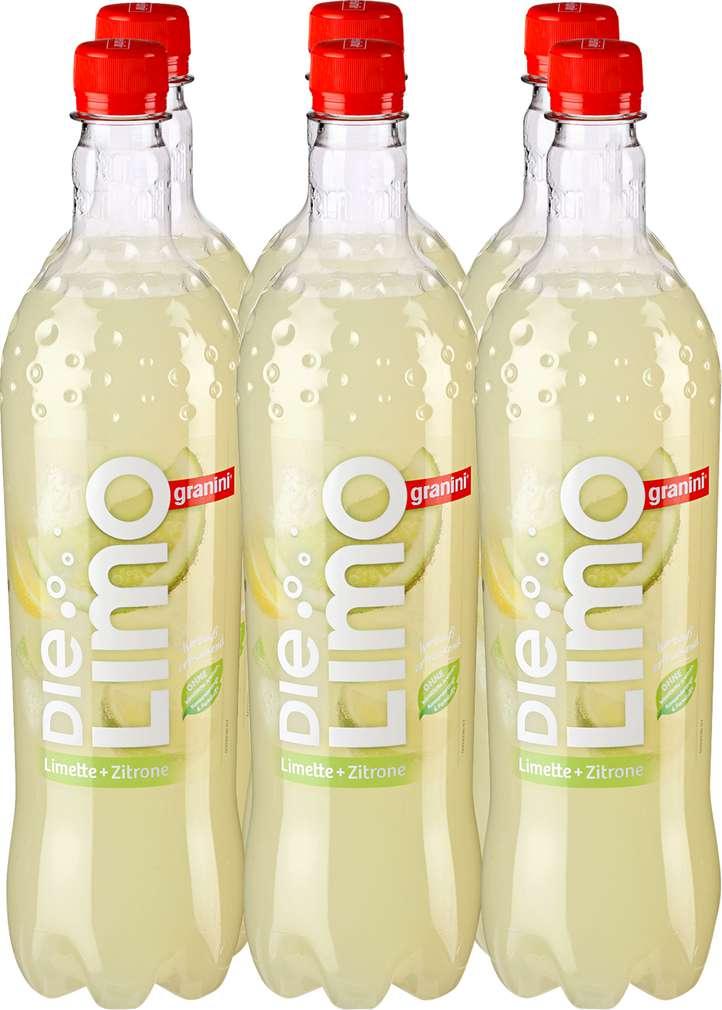 Abbildung des Sortimentsartikels Granini Die Limo Limette & Zitrone 6x1l
