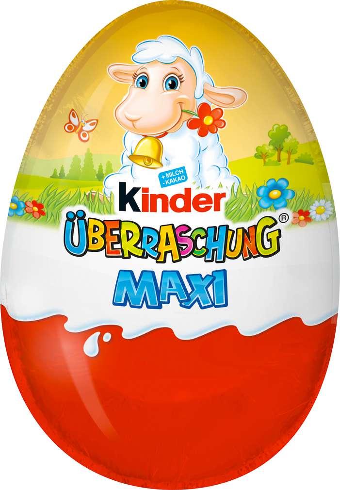 Abbildung des Sortimentsartikels Kinder Überraschung Maxi Ei Osterhase 100g