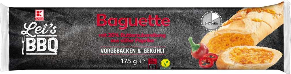 Abbildung des Sortimentsartikels K-Classic Let's BBQ Baguette süß Paprika 175g