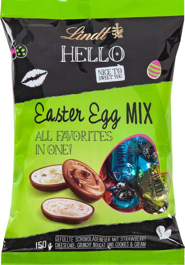 Abbildung des Sortimentsartikels Lindt Hello Easter Egg Mix 150g