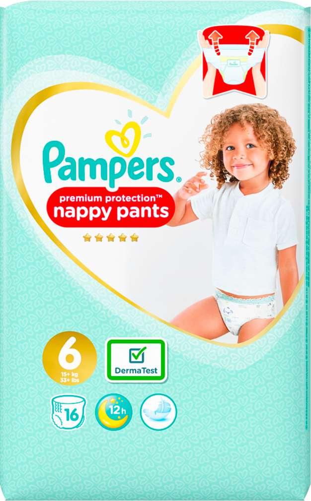 Abbildung des Sortimentsartikels Pampers Premium Protection Pants Größe 6, 15+kg 16 Stück