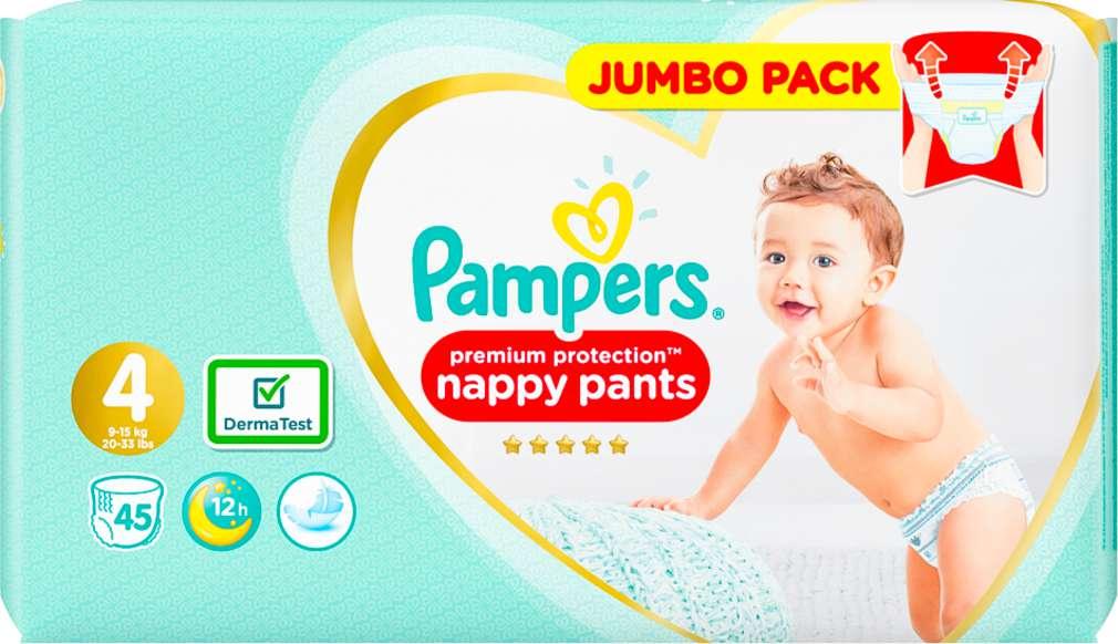 Abbildung des Sortimentsartikels Pampers Premium Protection Pants Größe 4, 9-15kg 45 Stück