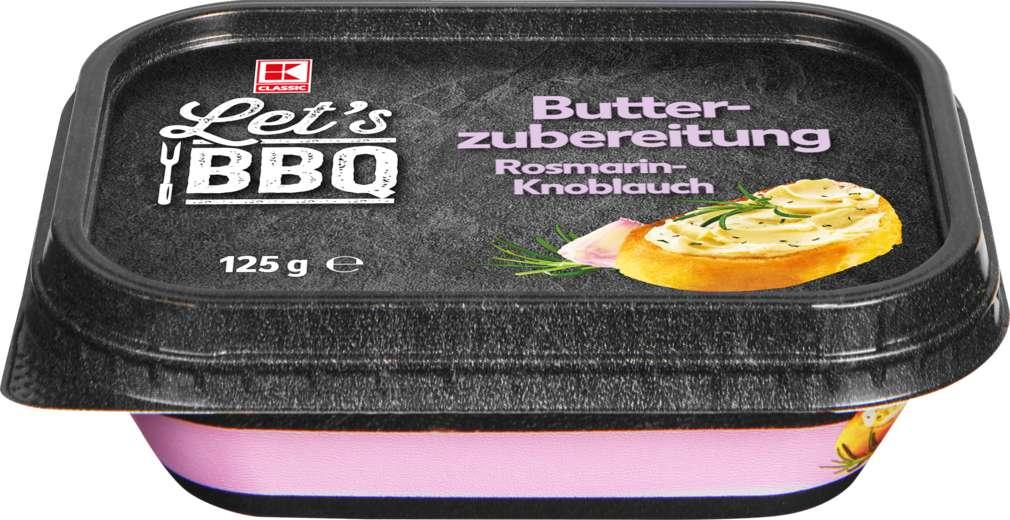 Abbildung des Sortimentsartikels K-Classic Let's BBQ Butterzubereitung Rosmarin-Knoblauch 125g