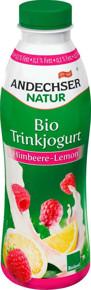 Abbildung des Sortimentsartikels Andechser Natur Bio Trinkjogurt Himbeere-Lemon 500g