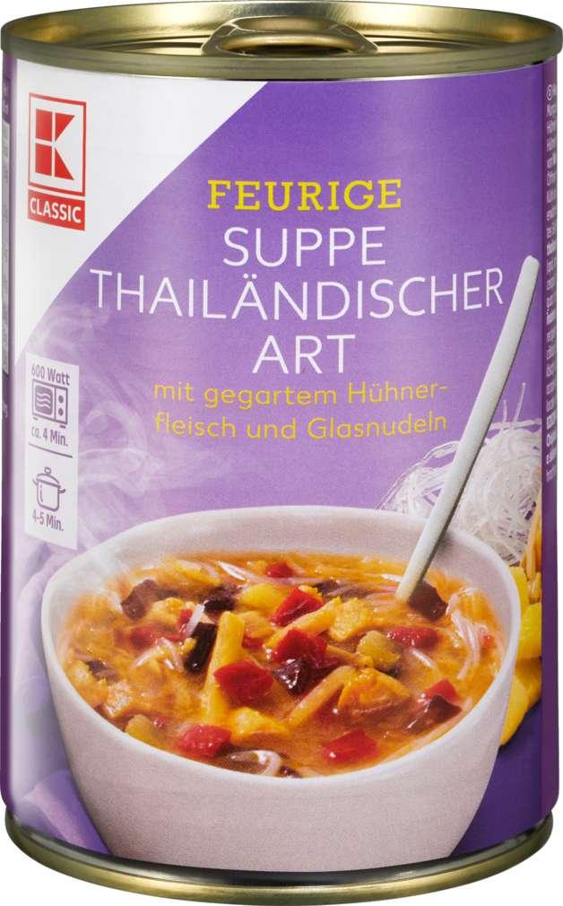 Abbildung des Sortimentsartikels K-Classic Thaisuppe Bangkok 400ml