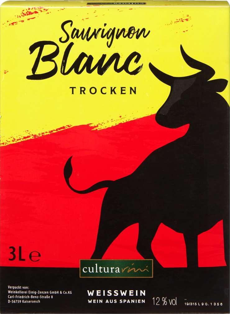 Abbildung des Sortimentsartikels Cultura Vini Sauvignon Blanc 3l