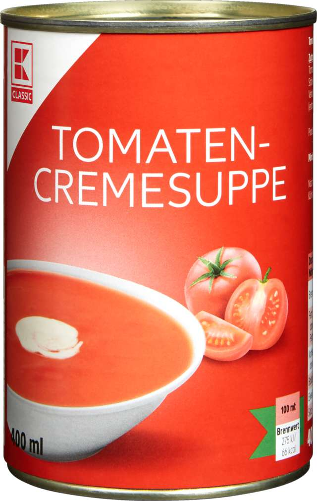 Abbildung des Sortimentsartikels K-Classic Tomatencremesuppe 400ml