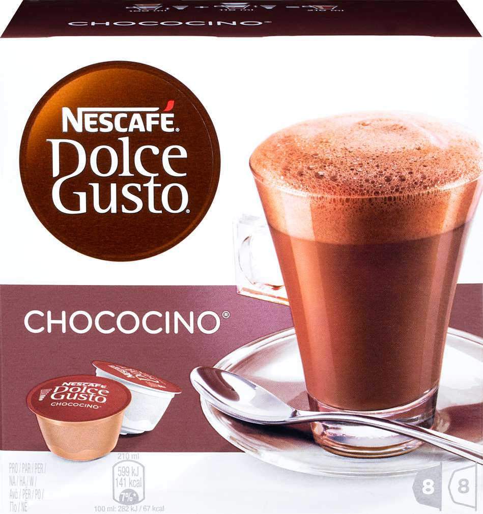 Abbildung des Sortimentsartikels Nescafé Dolce Gusto Chococino 256g, 2x8 Kapseln