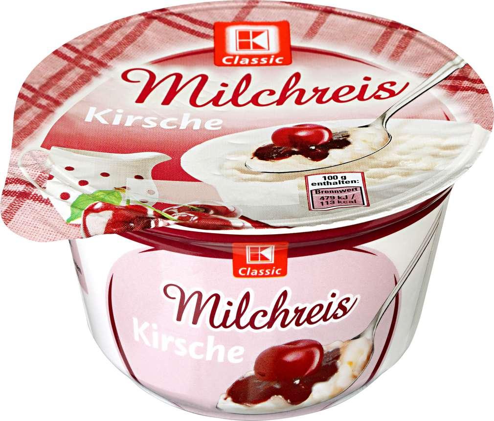 Abbildung des Sortimentsartikels K-Classic Milchreis Kirsche 200g