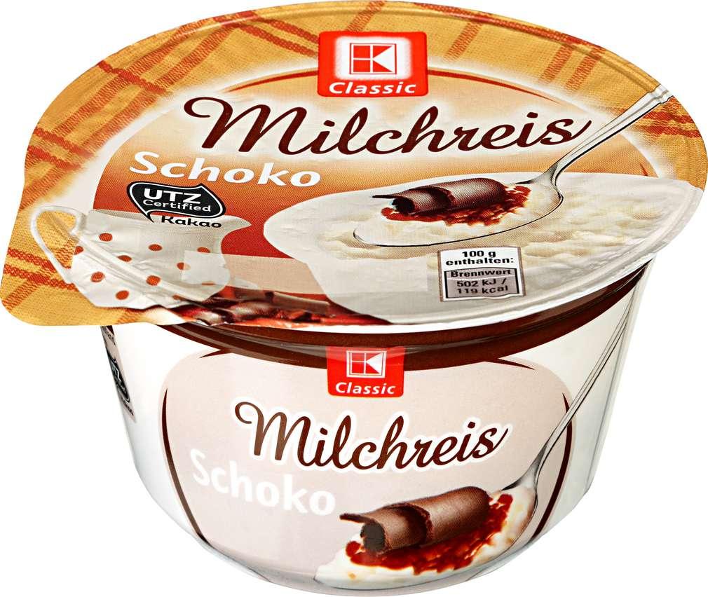 Abbildung des Sortimentsartikels K-Classic Milchreis Schokolade 200g