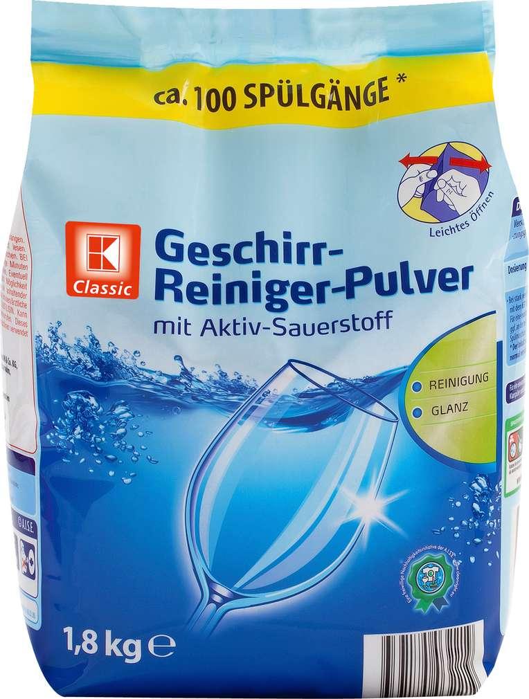 Abbildung des Sortimentsartikels K-Classic Geschirr-Reiniger-Pulver 1,8kg