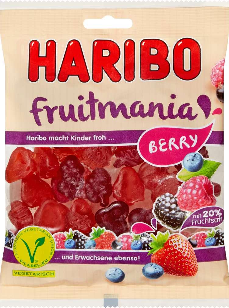 Abbildung des Sortimentsartikels Haribo Fruitmania Berry 175g