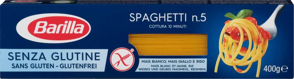 Abbildung des Sortimentsartikels Barilla Spaghetti n. 5 Glutenfrei 400g